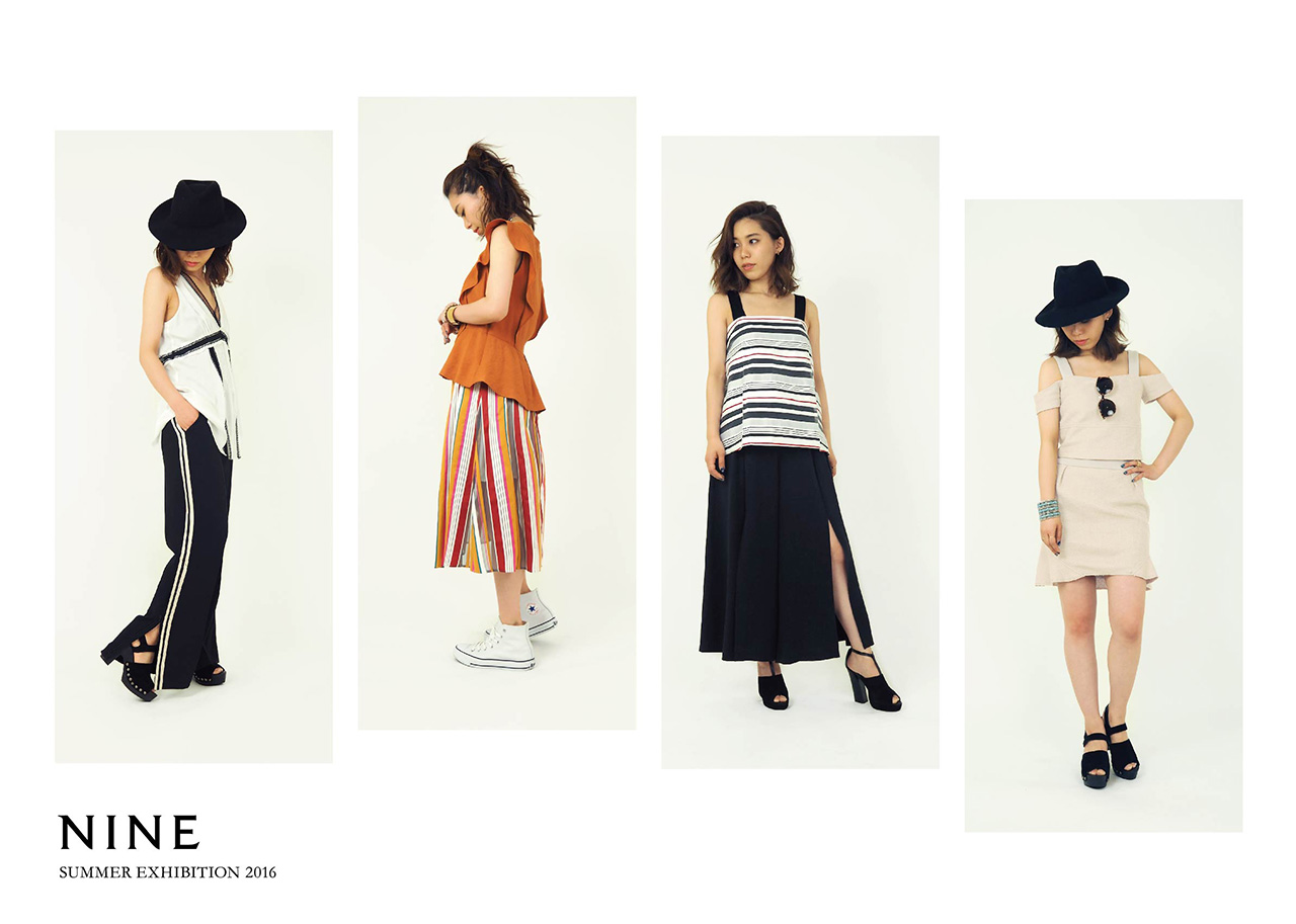 NINE 2016 Summer Collection START