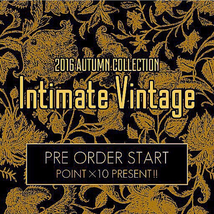 【Pre Order START!!】NINE 2016 AUTUMN COLLECTION