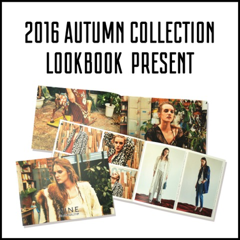 2016AUTUMN COLLECTION START!!