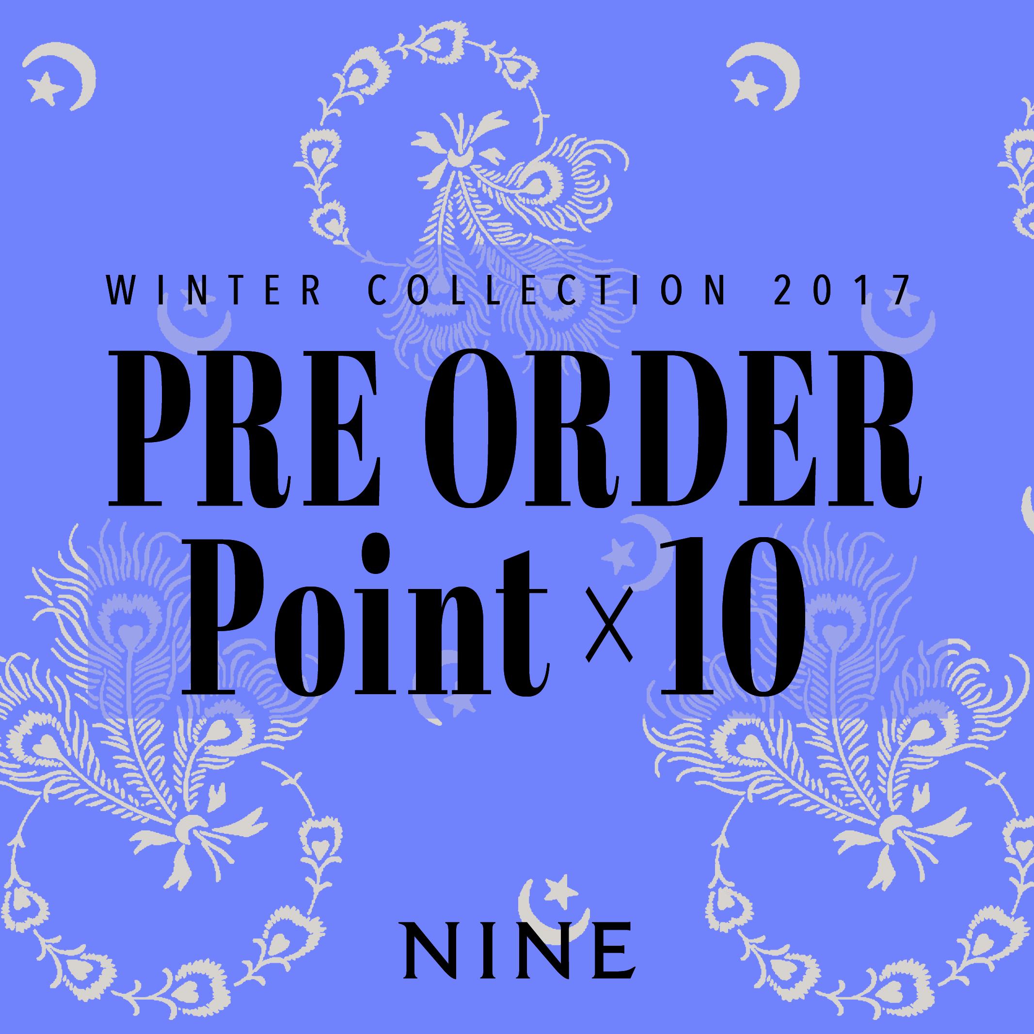 【NINE Winter Collection Pre Order 1st START】